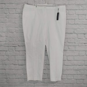 Lane Bryant | White Smart Stretch Pants NWT